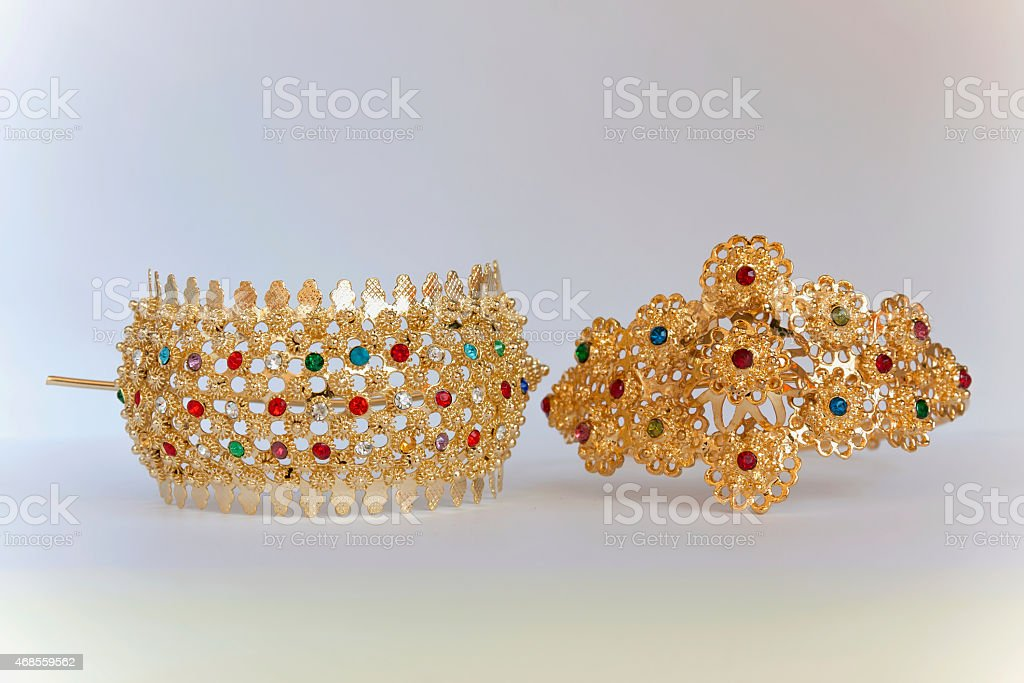 Hair and Arm accessory Thai style royalty-free stock photo