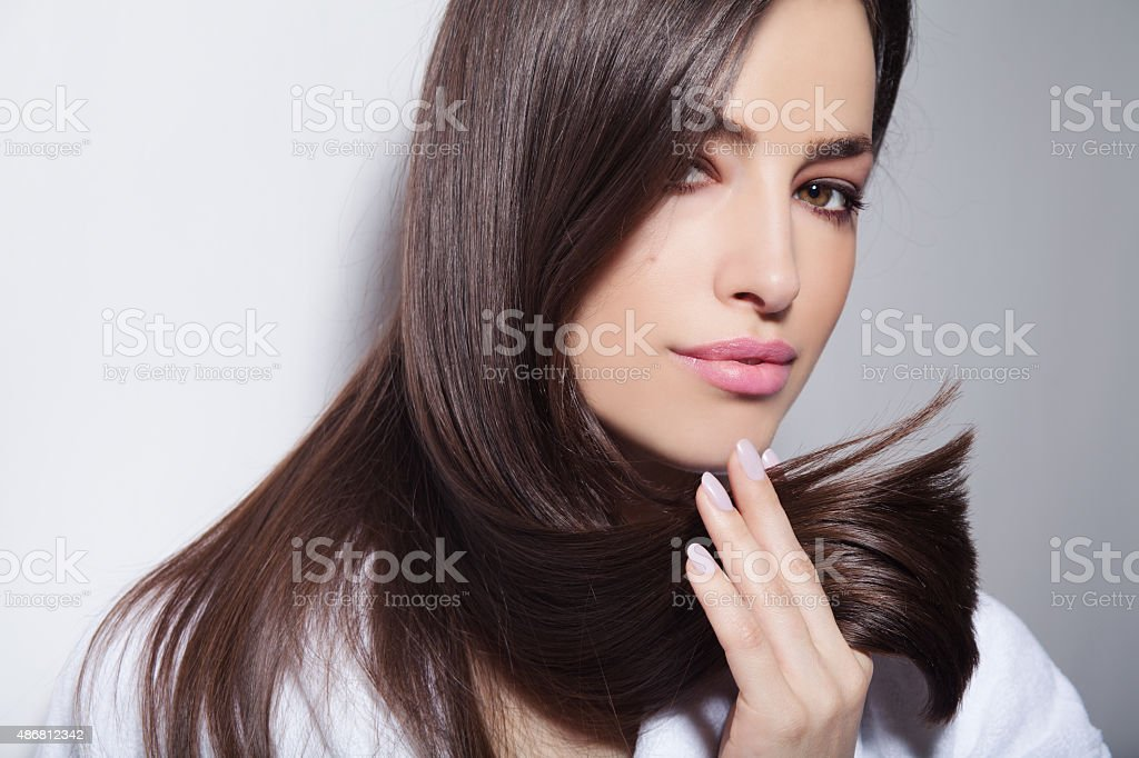 hair beauty stock photo