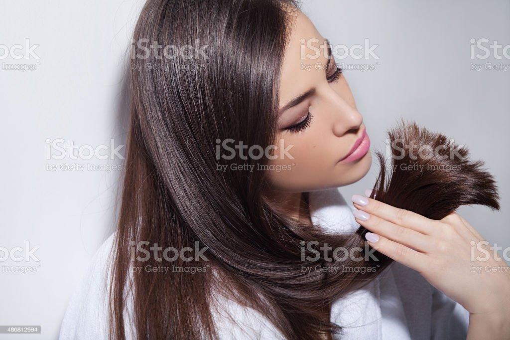 hair beauty stock photo