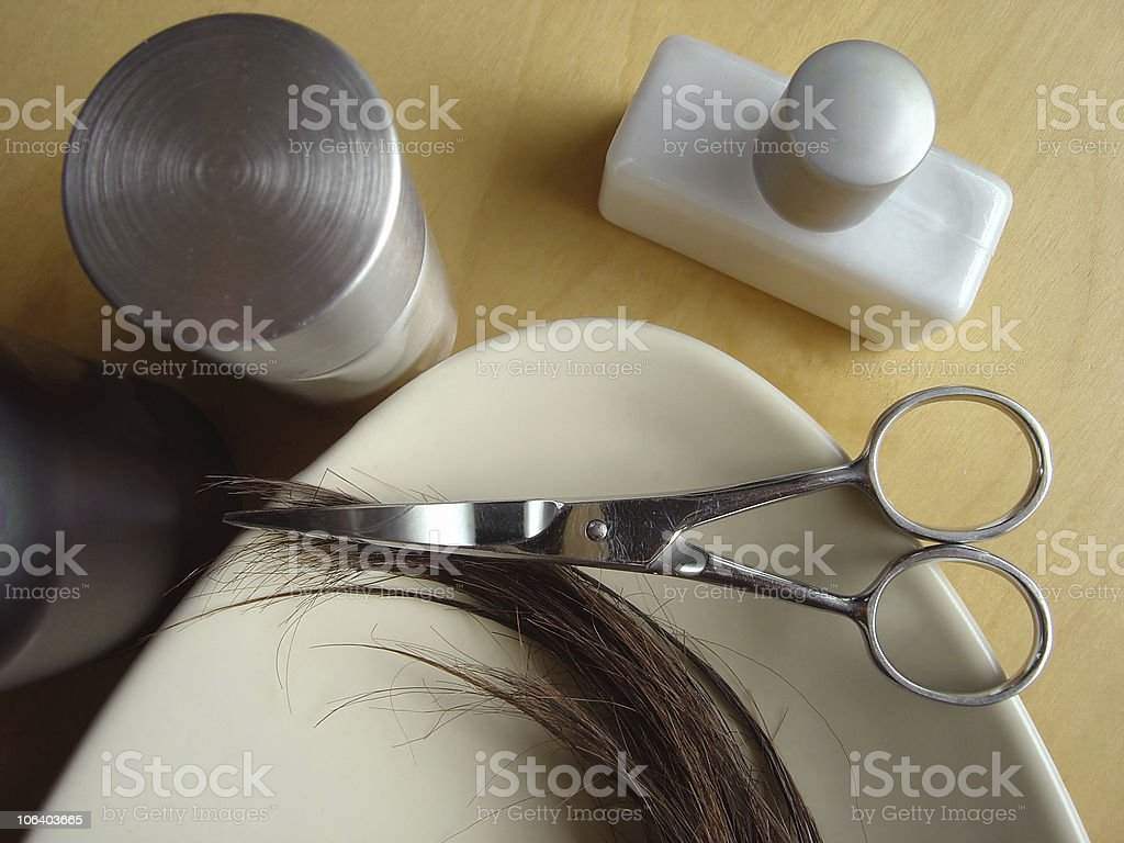 Hair Care 4 royalty-free stock photo
