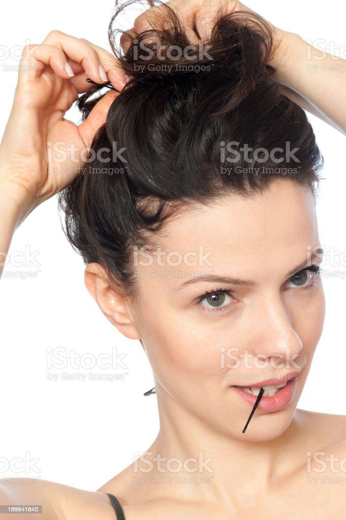 Hair Clip stock photo