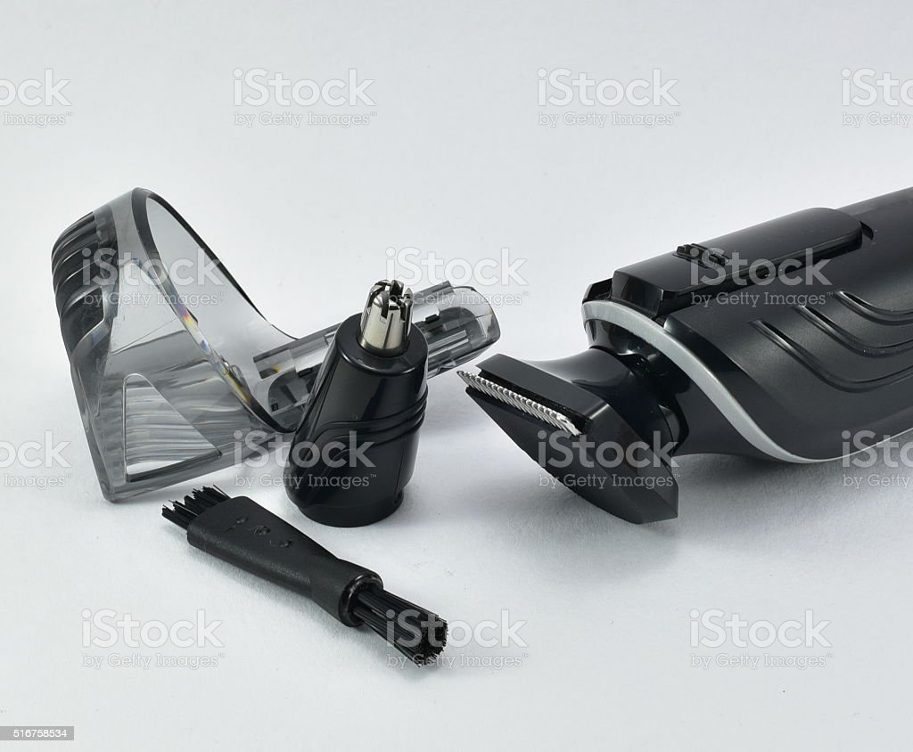 Hair clipper or trimmer stock photo