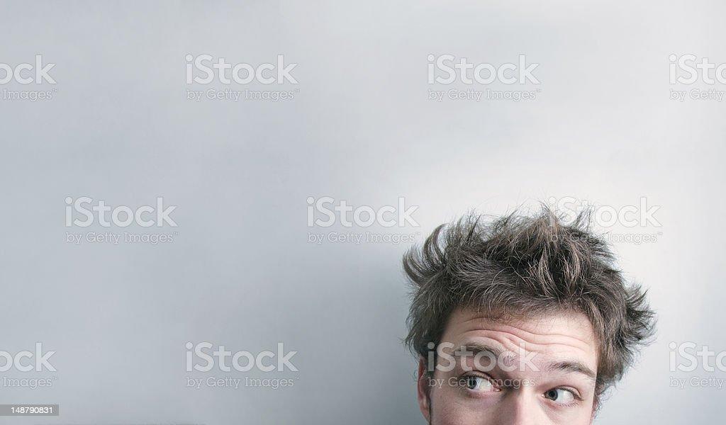 Hair cut ? stock photo