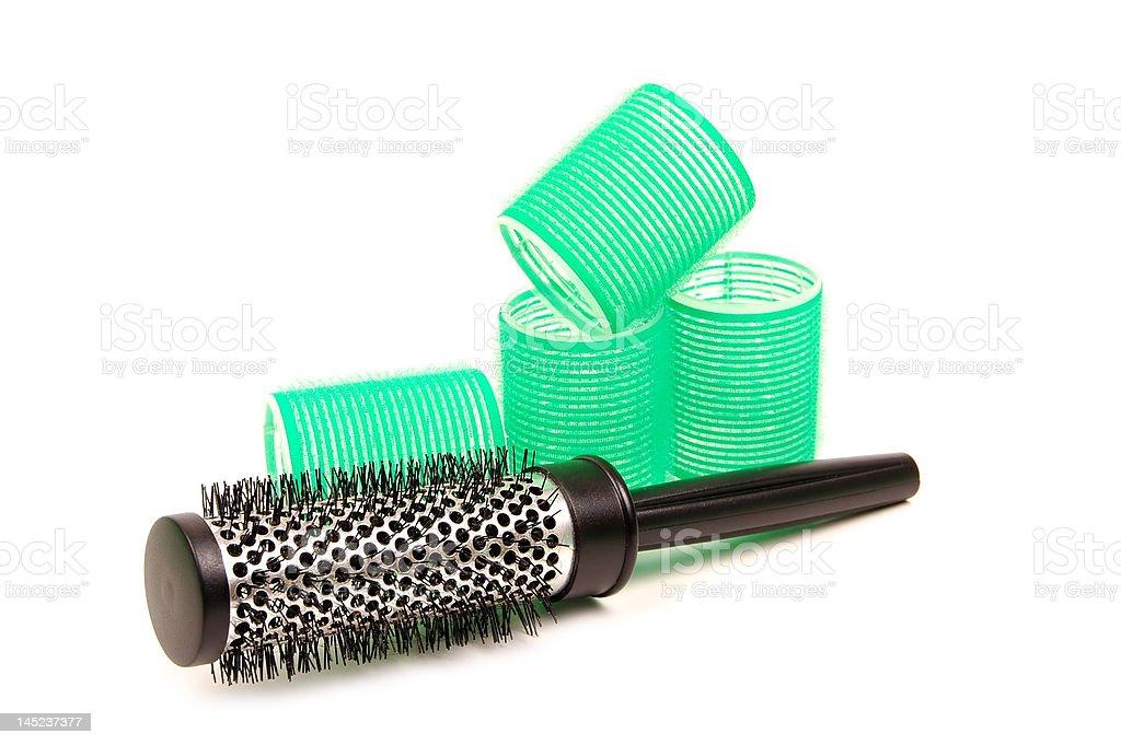 hair equipment royalty-free stock photo