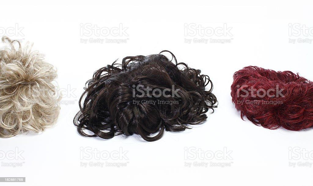 Hair Fashion Wig stock photo