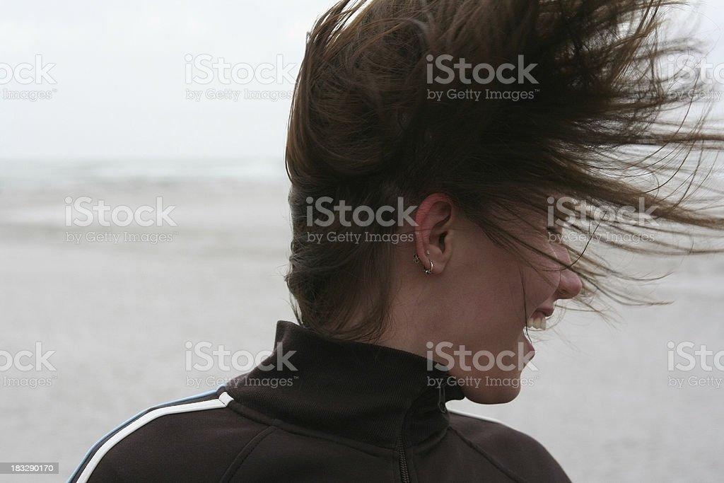 Hair Flurry stock photo