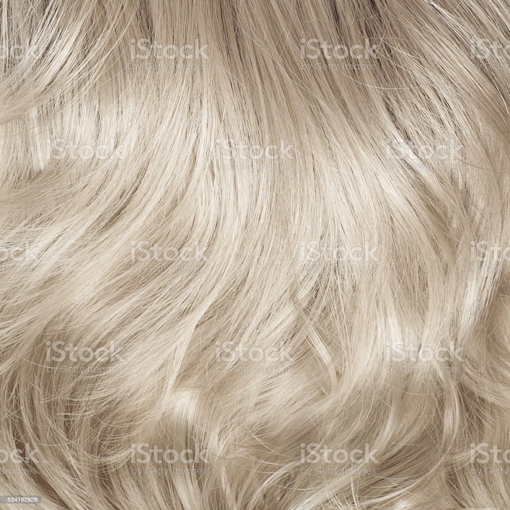 Hair fragment as a background composition stock photo