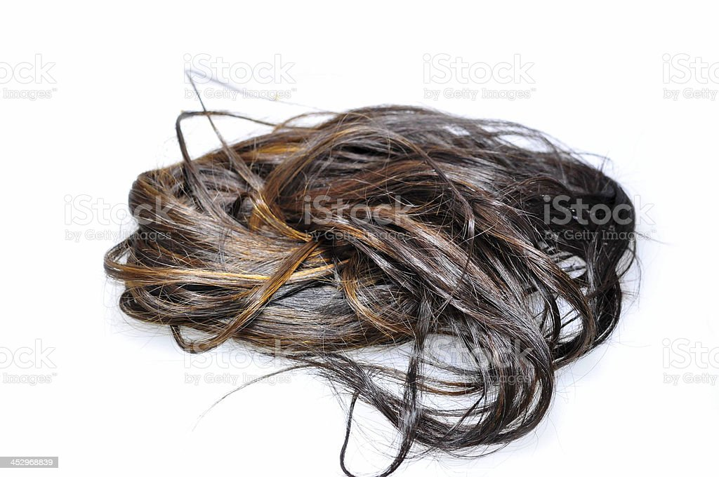 hair loss royalty-free stock photo