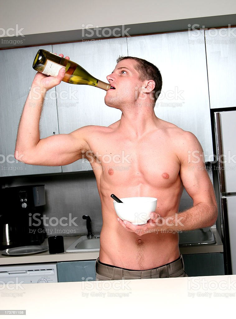 Hair of the dog. stock photo