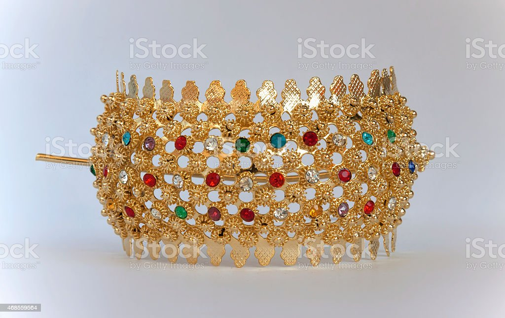 Hair ornament thai style royalty-free stock photo