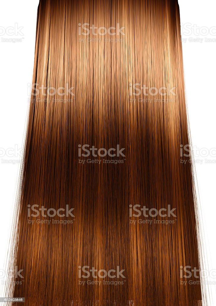 Hair Perfect Straight stock photo
