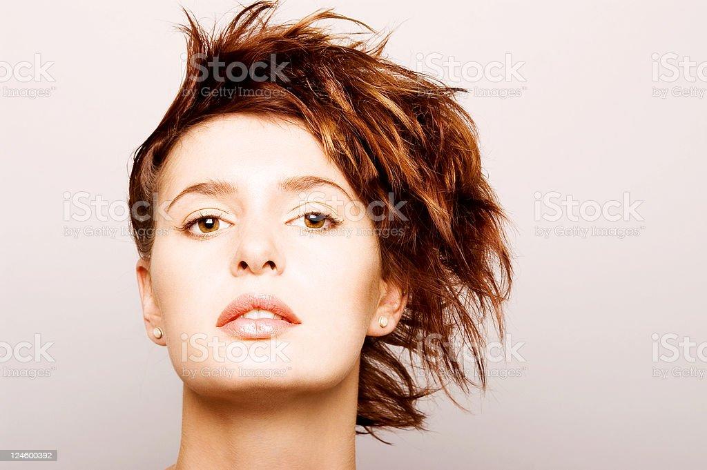 Hair royalty-free stock photo