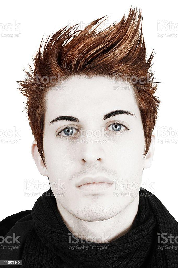 Hair Portrait royalty-free stock photo