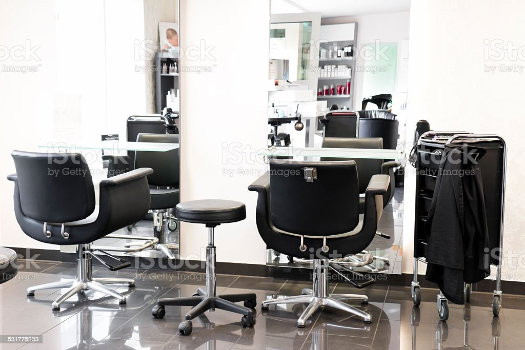 Hair Salon Interior stock photo