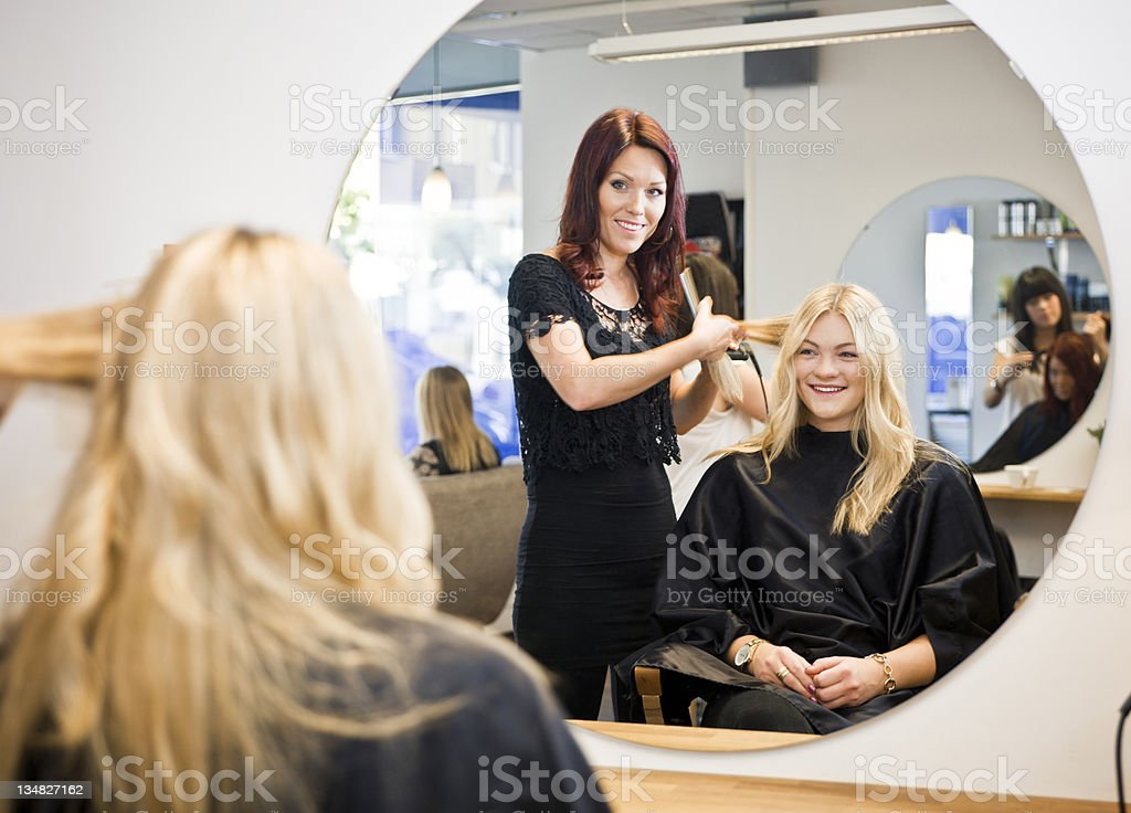 Hair Salon situation stock photo
