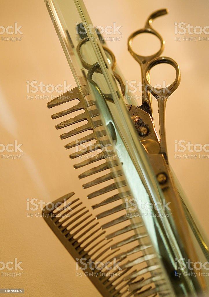 Hair Studio Stuff royalty-free stock photo