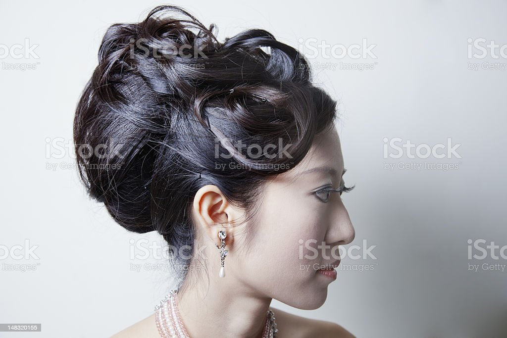 Hair Style royalty-free stock photo