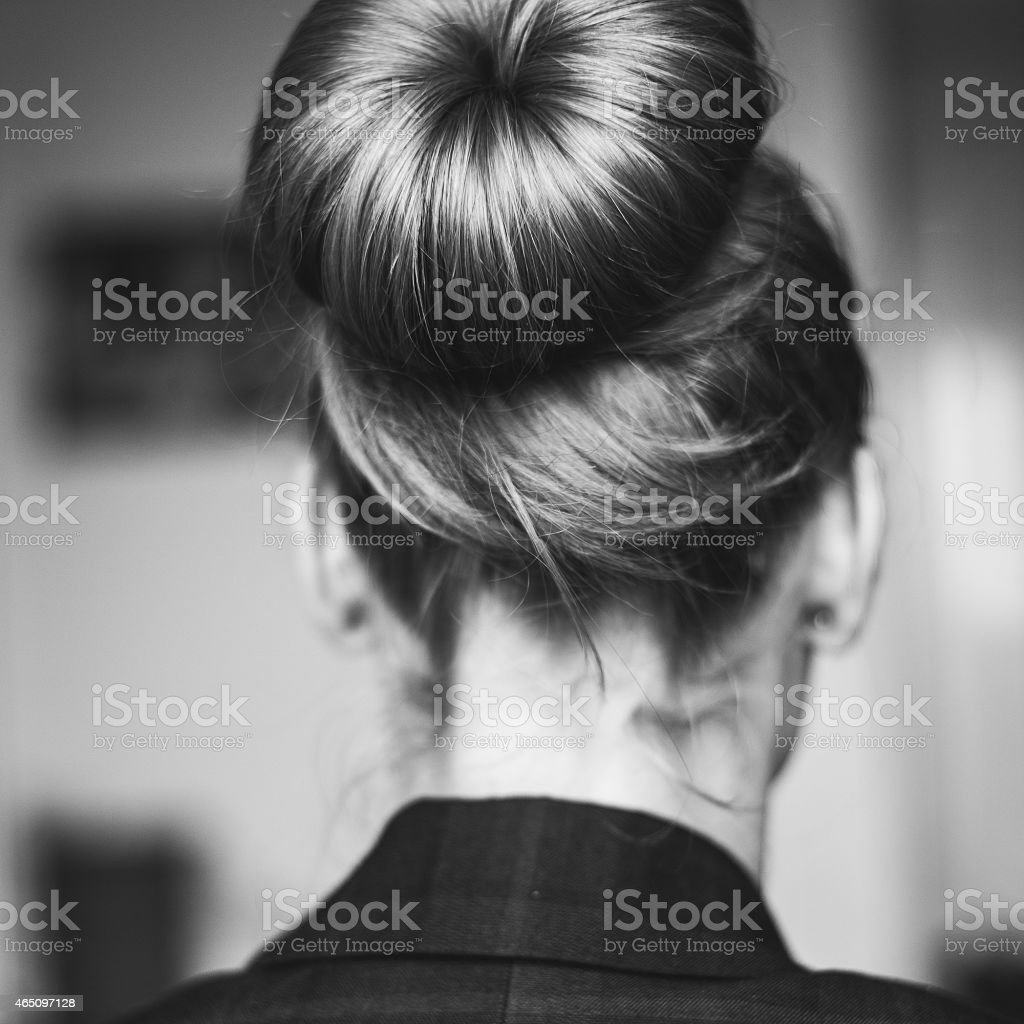 Hair style stock photo