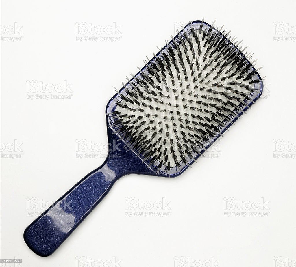 hairbrush royalty-free stock photo
