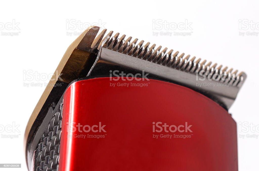 hairclipper close-up, part stock photo