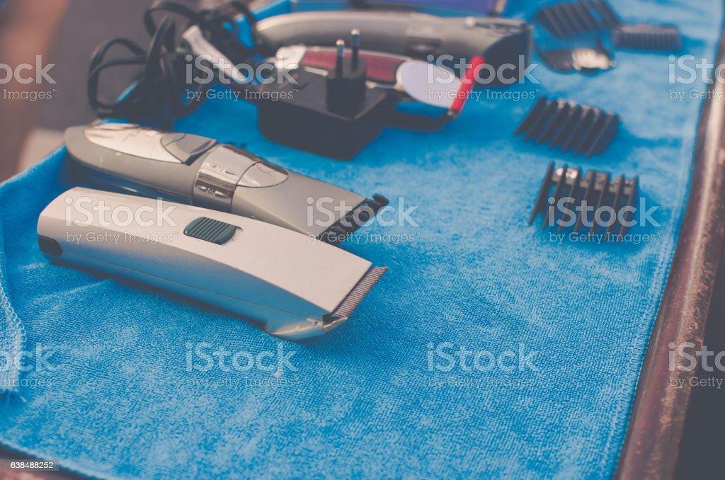 hairclipper stock photo