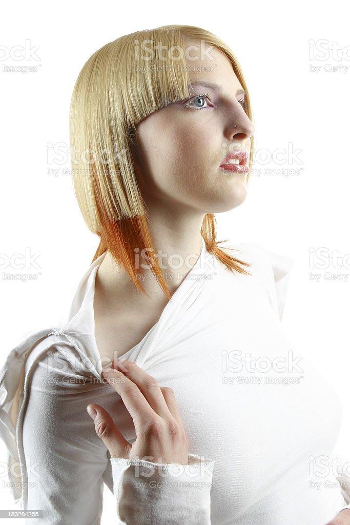 Hairdo 21 royalty-free stock photo
