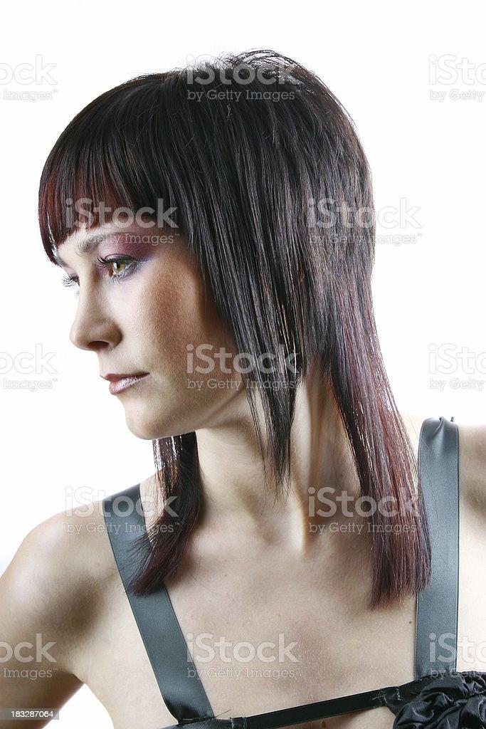 Hairdo 34 royalty-free stock photo