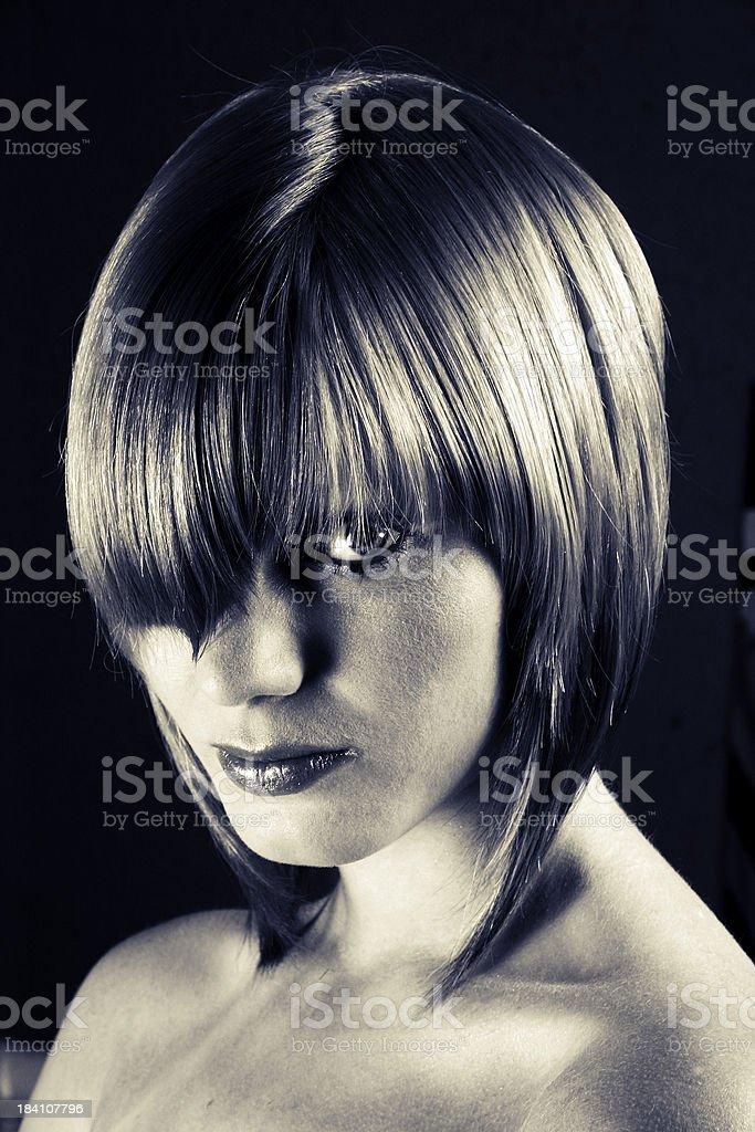 Hairdo royalty-free stock photo