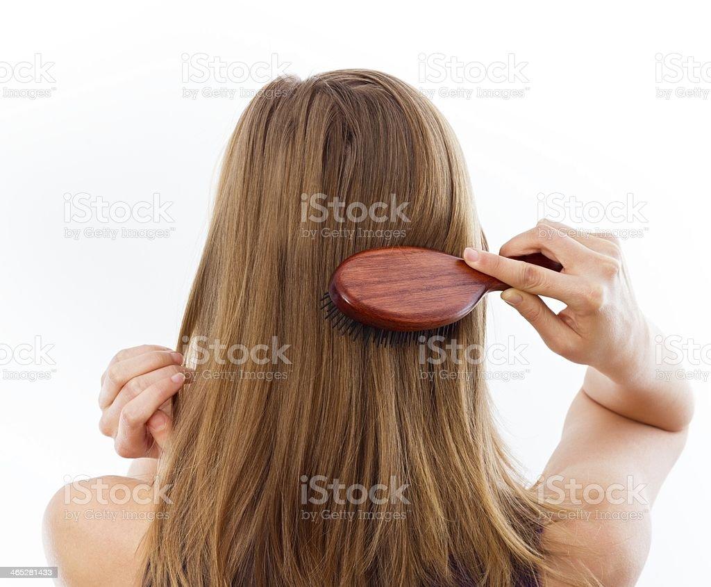 Hairdo stock photo
