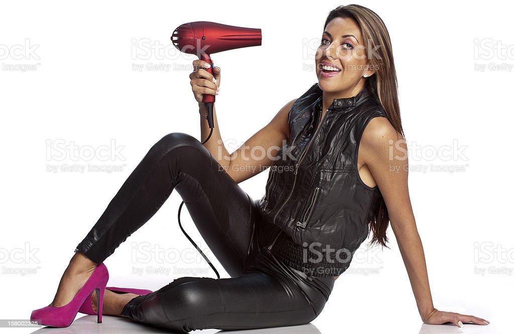 Hairdresser royalty-free stock photo