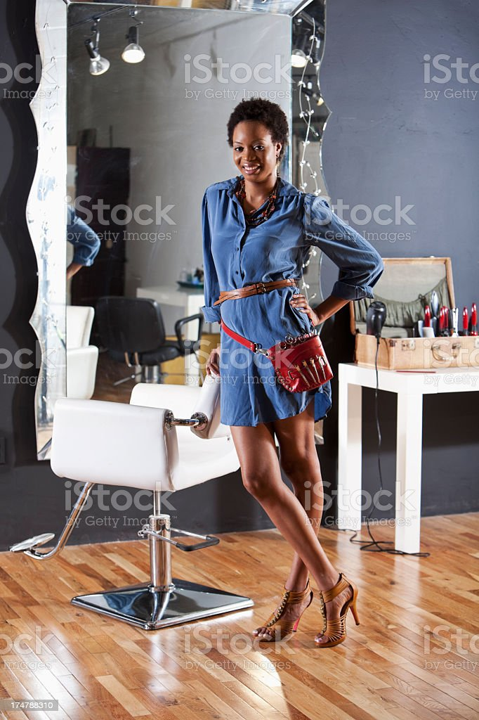 Hairdresser stock photo