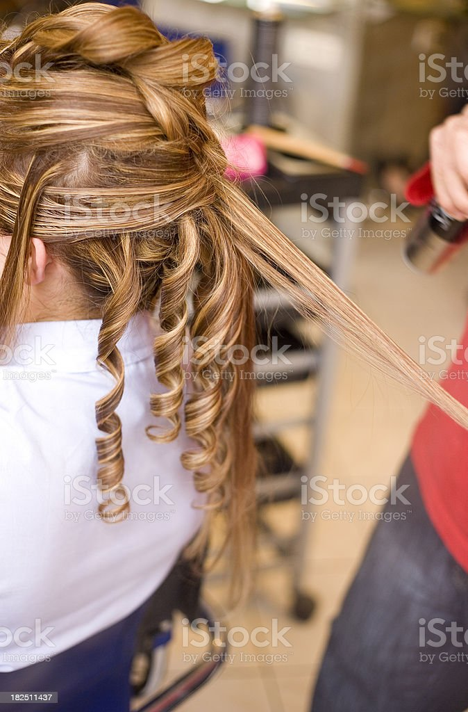 Hairdresser royalty-free stock photo