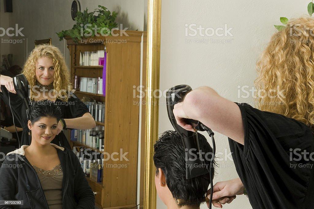 Hairdresser stock photo