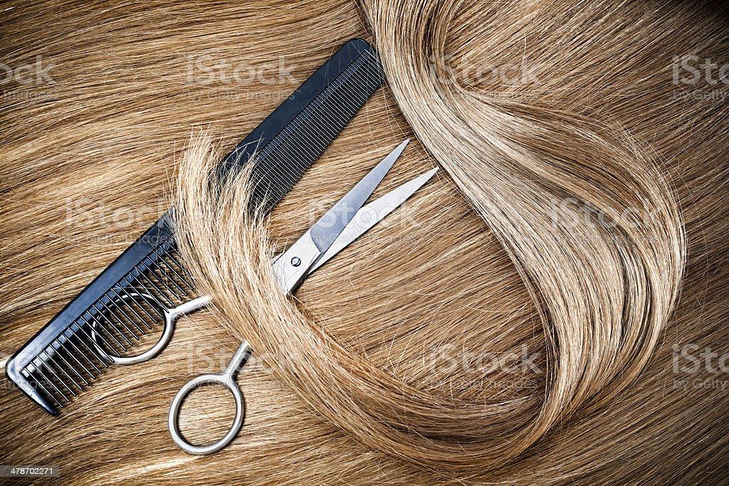 hairdressing stock photo