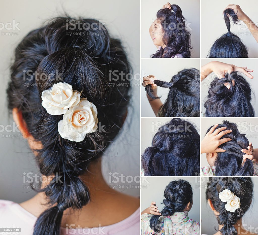 Hairdressing stock photo