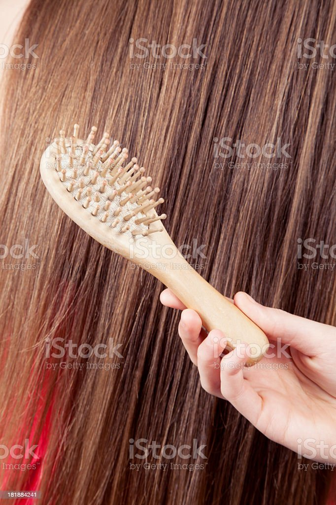 Hair`s problem royalty-free stock photo