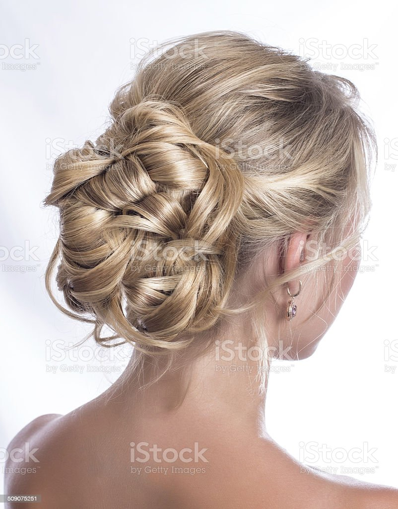 Hairstyle stock photo