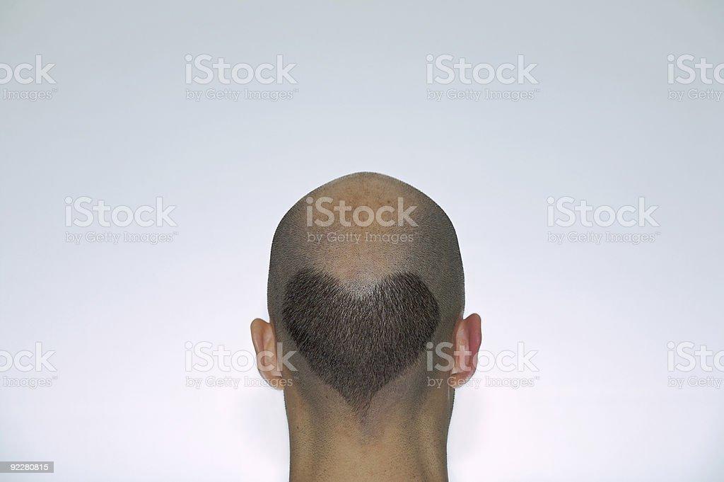 Hairy Heart stock photo