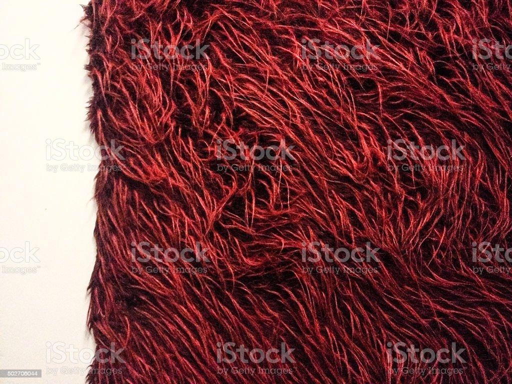 Hairy wall stock photo