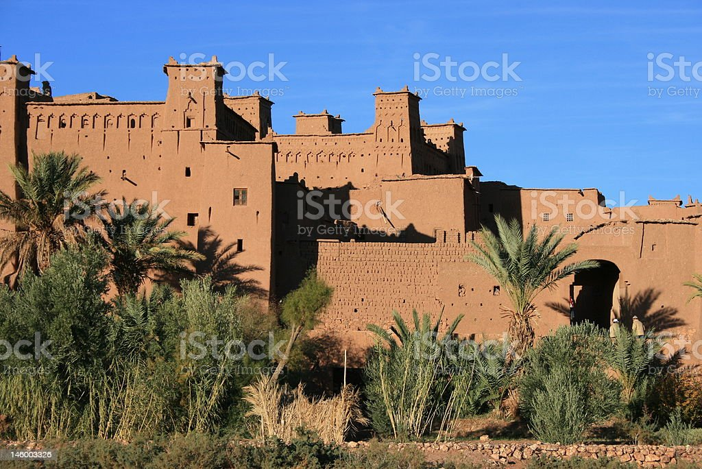 hait ben haddou royalty-free stock photo