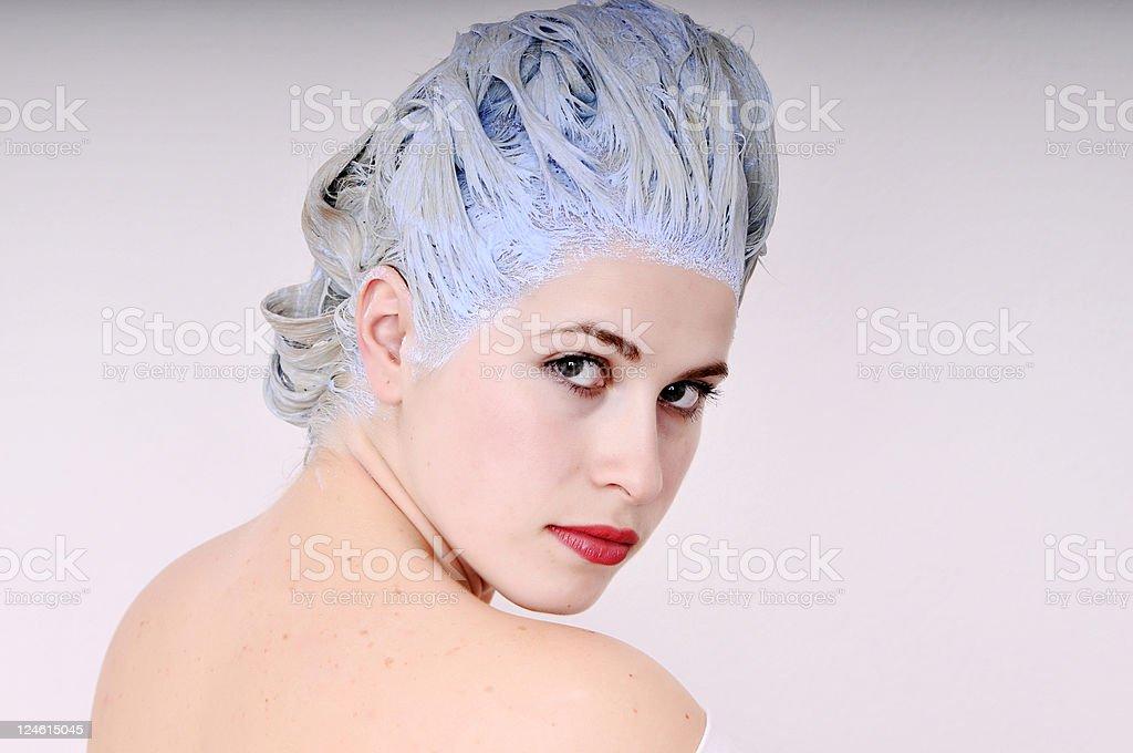 hait dye royalty-free stock photo
