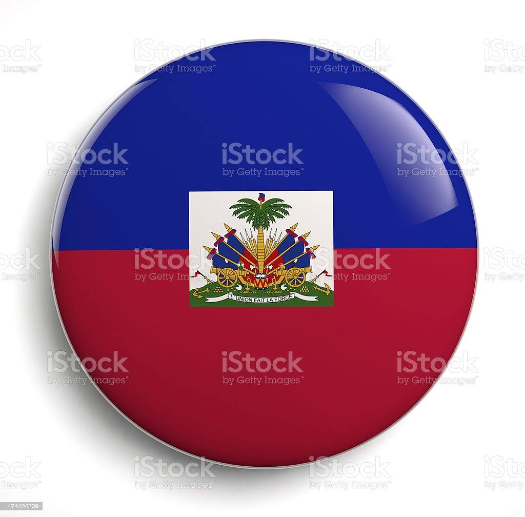 Haiti flag royalty-free stock photo