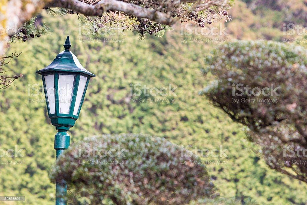 Hakone Detached Palace Garden in Kanagawa Prefecture, Japan stock photo