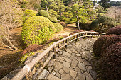 Hakone Detached Palace Garden in Kanagawa Prefecture, Japan