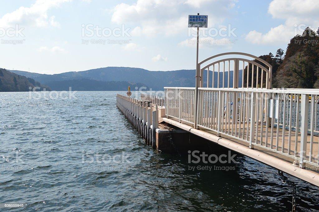 Hakone, sightseeing spot in Japan stock photo