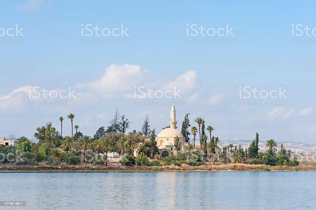 Hala Sultan Tekke mosque Cyprus stock photo