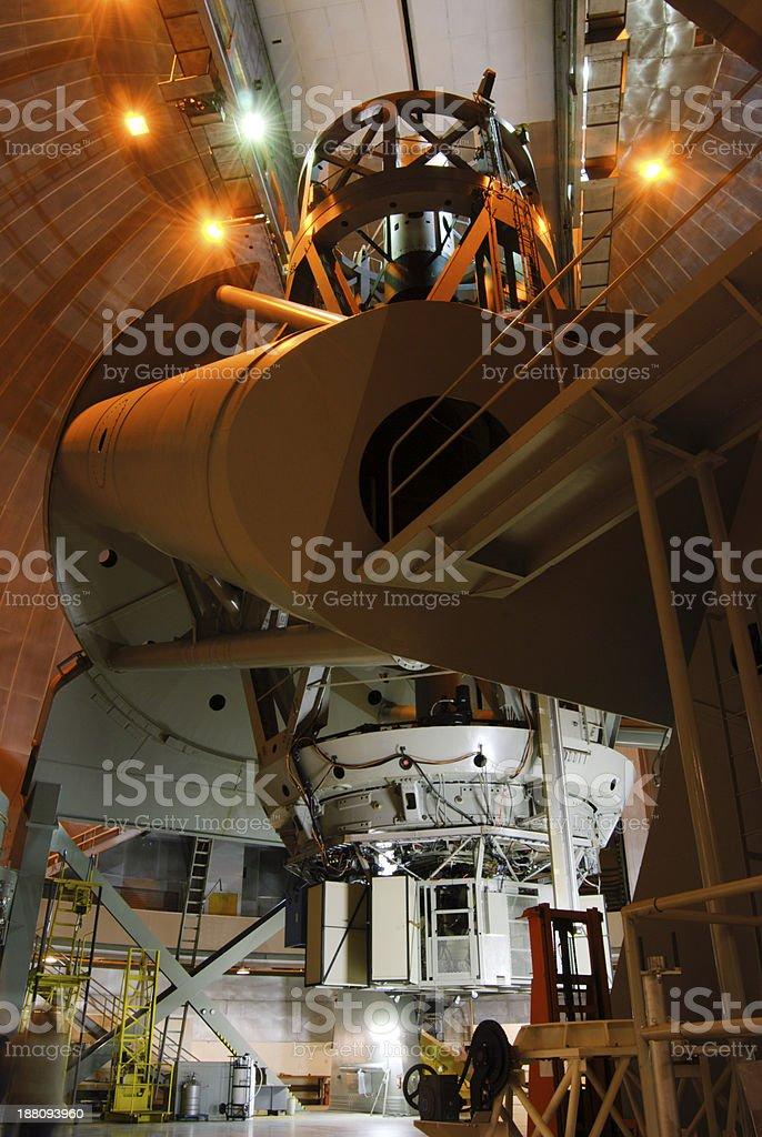 hale telescope stock photo