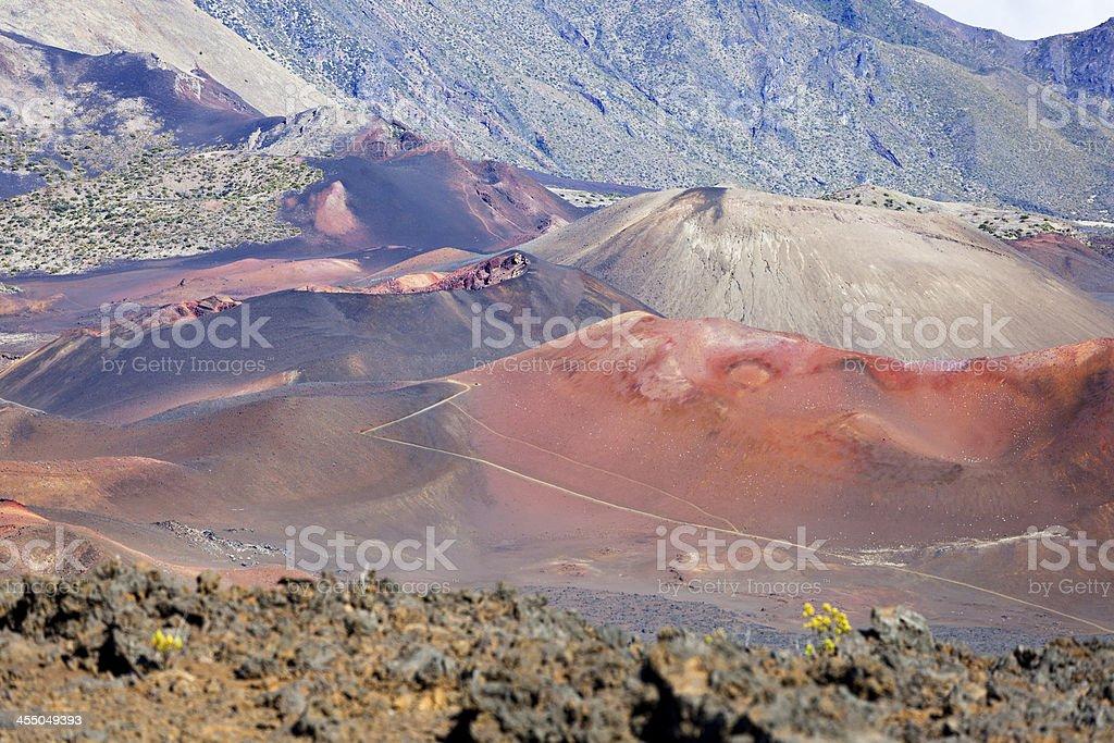 Haleakala Crater, Maui royalty-free stock photo