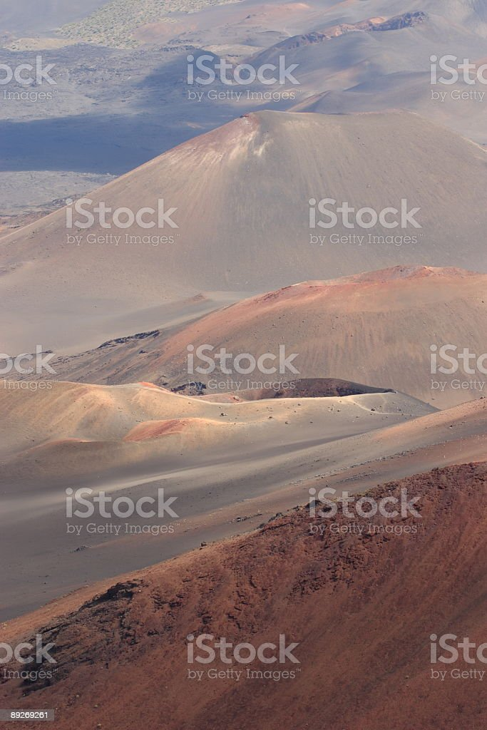 Haleakala Crater royalty-free stock photo