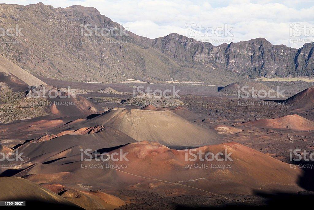 Haleakala Landscape royalty-free stock photo